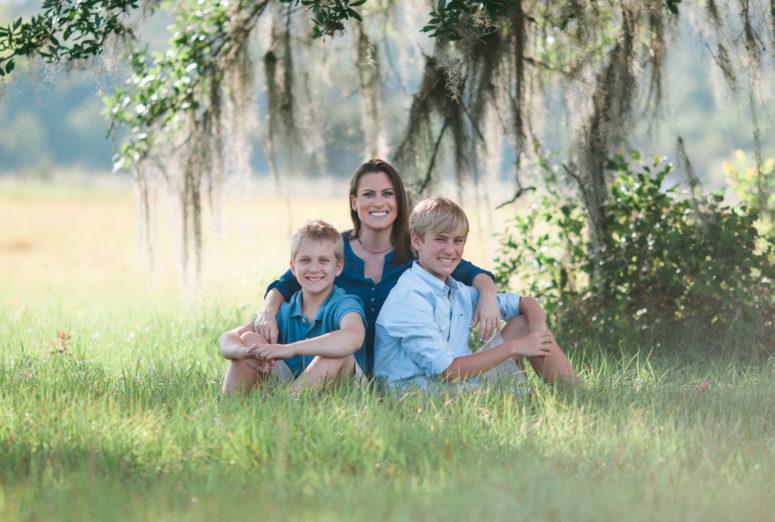 Family Session at Miccosukee Greenway Tallahassee