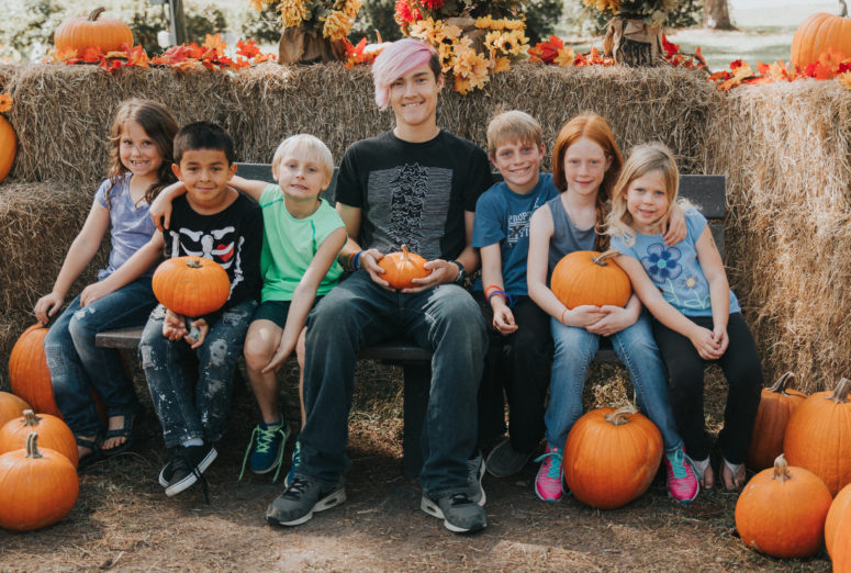 Tallahassee Photographer Pumpkin patch photos